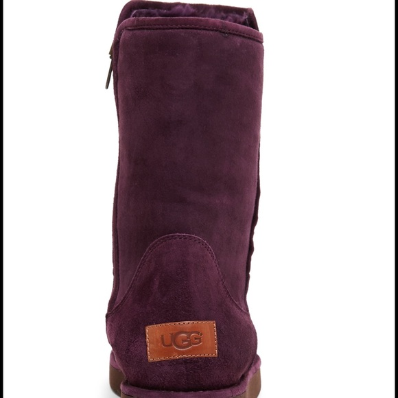 uggs rain boots with fur