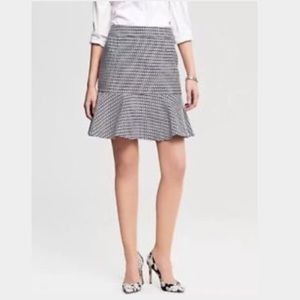 Banana Republic Chain Link Design Flounce Skirt