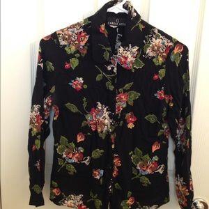 Carole Little Tops - 🛍🎀 Cute long sleeve floral blouse.