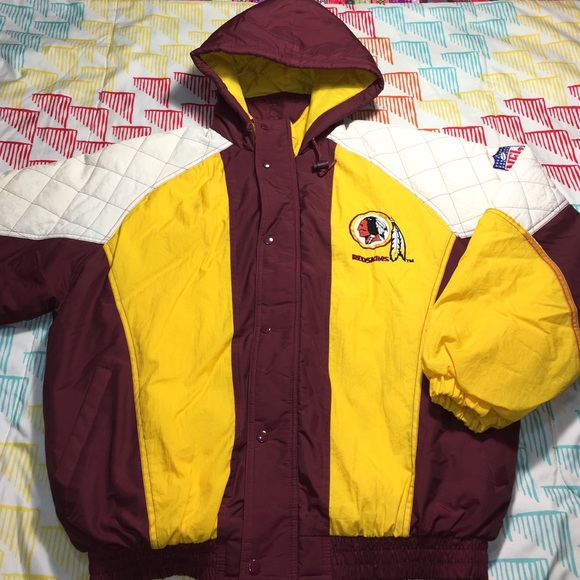 the best attitude 741c6 b25cc Washington Redskins Vintage NFL Football Jacket