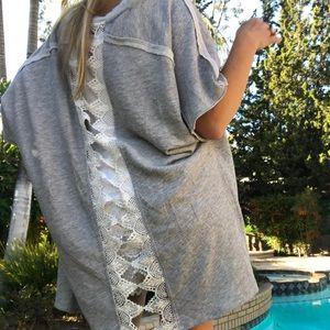 Katie K Sweaters - Crocheted Cardigen