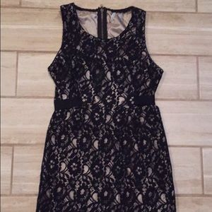 Pretty Black Lace Dress!