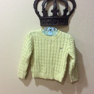 Marie Chantal Sweaters - Cotton cable sweater