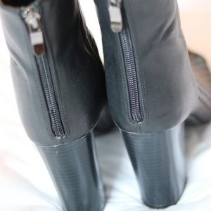 Shoe Dazzle Shoes - Peep Toe Booties