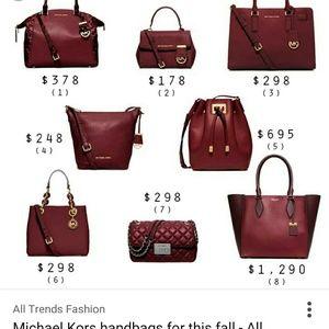3ab9d60e3ad Michael Kors Bags - ONE HOUR SALE Michael kors Original wine color bag