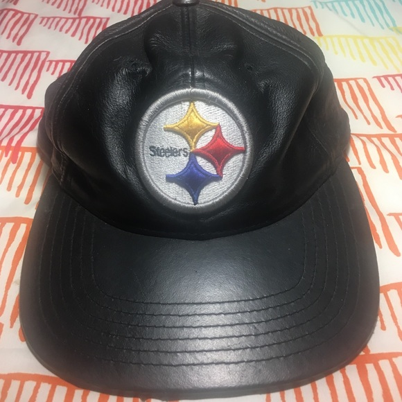 steelers leather helmet hat - best helmet 2017