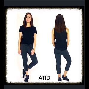 Atid Clothing Pants - Atid Luxury Sport Pant in Charcoal