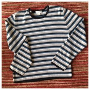 Christopher & Banks Striped Sweater M