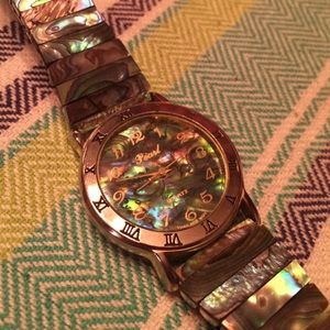 Pearl Izumi Accessories - Vintage Abalone Watch