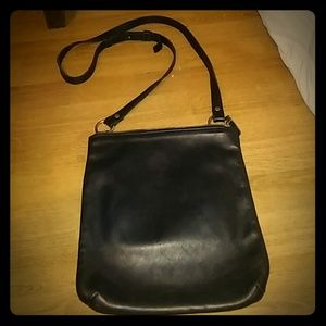 Vintage black cross body coach