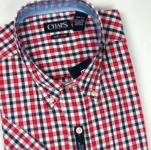 Chaps Other - 🎆HOST PICK🎆Men's Chaps Short Sleeve Button Down