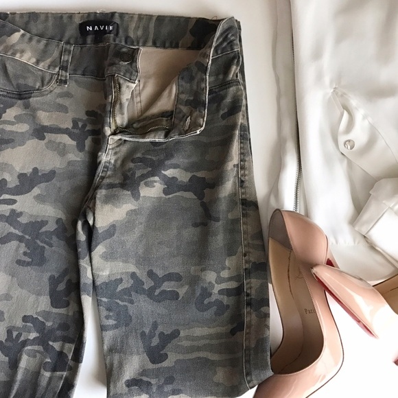 dba1c37f9a Camo Camouflage jeans army print denim pants Zara.  M_5840d6b3713fde26af046179