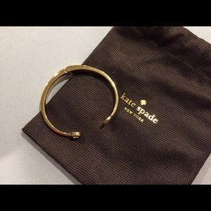 kate spade Jewelry - Kate Spade Gold Cuff