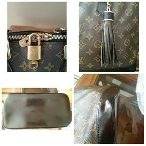 louis Vuitton  Bags - Authentic Louis Vuitton Alma PM Black
