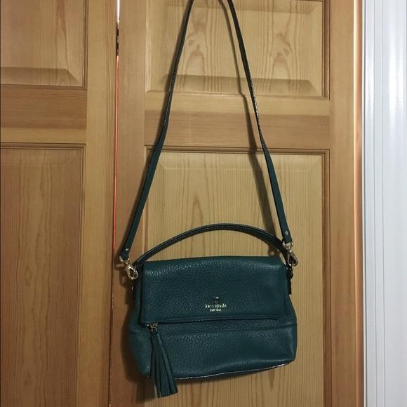 5a2345386 kate spade Handbags - Kate Spade Pebbled Leather Cross-body