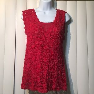 Covington Lace Top with lining