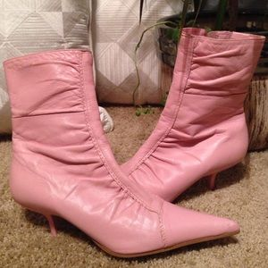 Shoes - Pink ankle boots