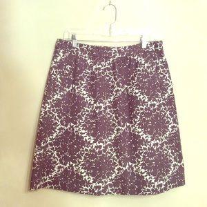 Boden Dresses & Skirts - BODEN☄️GRAY & CREAM☄️COTTON SKIRT🚫LOWEST PRICE🚫