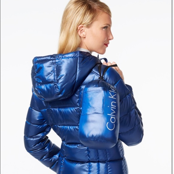 Calvin Klein Jackets   Blazers - Calvin Klein Metallic Down Packable Puffer  Coat 8487af9c79