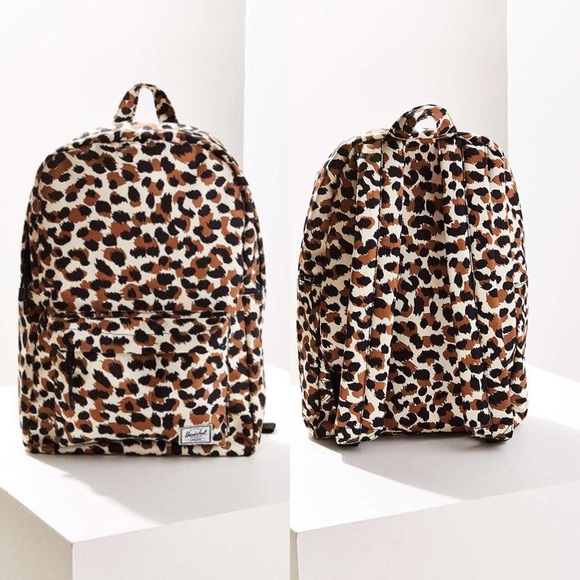 first rate popular stores outlet online Last 1! UO Herschel Leopard Backpack NWT