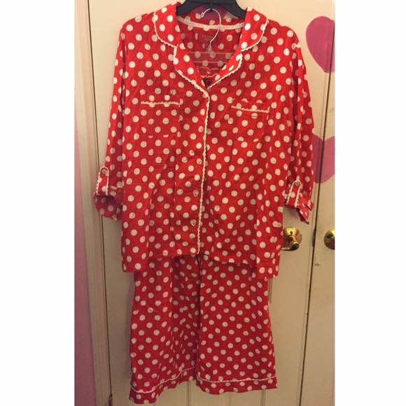 Red   White Polka Dot Pajamas. M 5840ea2c4127d0f87d04b6ed. Other Intimates    Sleepwears you may like. Victoria secret ... 531c981e5