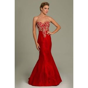 Jovani Dresses & Skirts - Red Jovani Prom dress style #77831 offers accepted