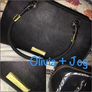 """Olivia + Joy"" Hailey Double Handle Satchel"