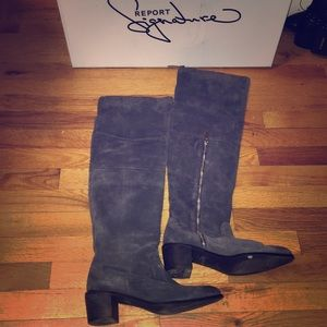 Shoes - NWT report signature suede boots