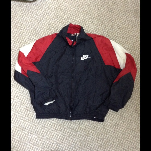 nike vintage blazer red shirt
