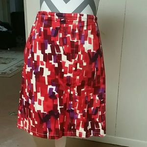 Etcetera Dresses & Skirts - Patterned skirt
