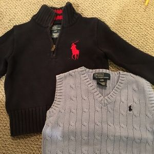Toddler 2T and 24 mo Polo by Ralph Lauren.