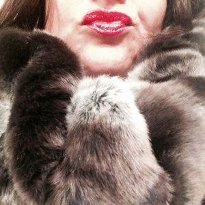 Black Rivet Accessories - Faux Fur Scarf