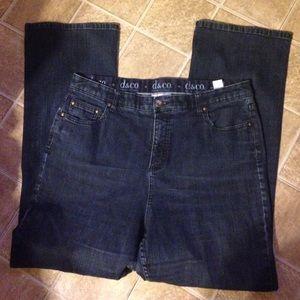 Denim & Co jeans. Sz 16. Nice jeans
