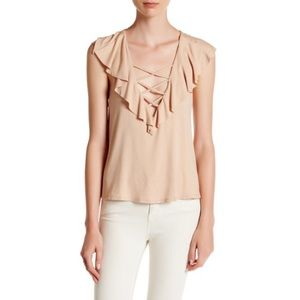 Ruffle Blouse in blush Nordstrom