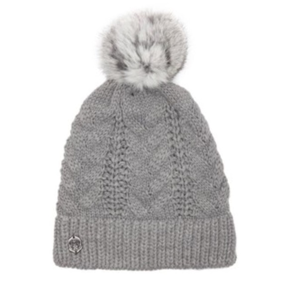 122c3d763c9ca Vince Camuto Cable Knit Beanie Pom Hat