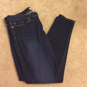 Joie jeans mid rise skinny