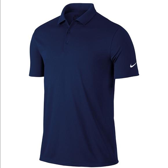 a9bf427e01 🆕NikeGolf Men's Dri-Fit Victory Polo Shirt - Navy NWT