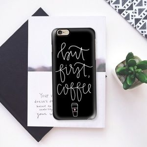 Casetify Accessories - Casetify • black coffee case for iPhone 6 Plus