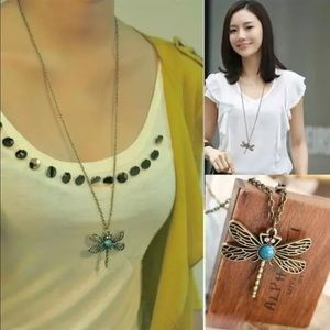 Jewelry - Latest Fashion Dragonfly Chain Necklaces