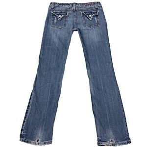 Vigoss SZ 7 Straight Leg Blue Jeans