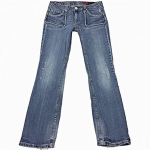 Vigoss SZ 7 Straight Leg Blue Jeans