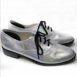 American Apparel Shoes - New American Apparel Metallic Dancing Shoe