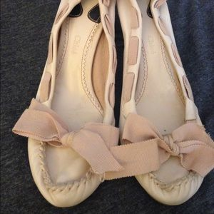 Shoes - Amazing Chloé pale pink shoes