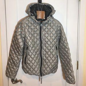 Duvetica Jackets & Blazers - Duvetica Aida Silver packable Down Jacket