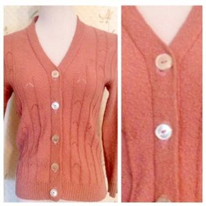 Vintage Sweaters - Vintage Italian Cardigan by Conferioni. S/M