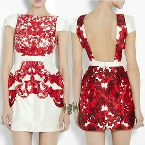 Tibi Dresses & Skirts - Tibi Silk Rococo Print Mini Dress