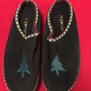 """Shoes - Pair of Christmas Winter """"ANYWHERE"""" Mules , slides"""