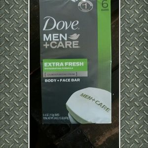 dove Other - Nwt dove men care body and face bars. (6)
