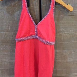 lululemon athletica Tops - Burnt orange Lululemon halter top