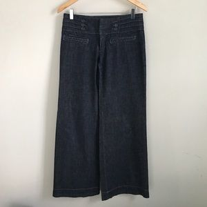 Anthropologie high waisted flared jeans